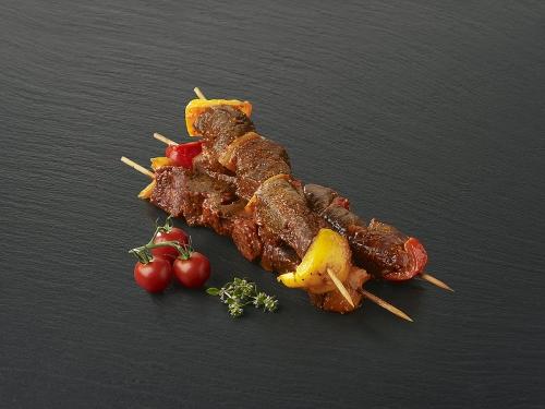 Brochette de bœuf marinée Andalouse