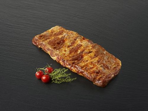 Travers de porc mariné Barbecue